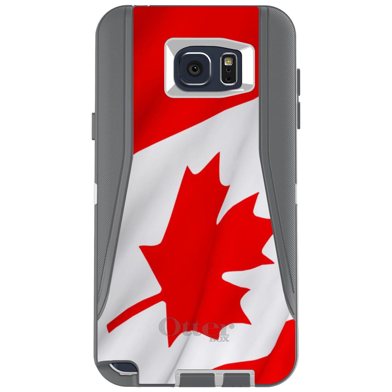 DistinctInk Custom Grey OtterBox Defender Series Case for Samsung Galaxy Note 5...