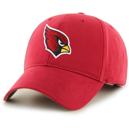 Men's Fan Favorite Cardinal Arizona Cardinals Mass Basic Adjustable Hat - (Hat Cardinal's)