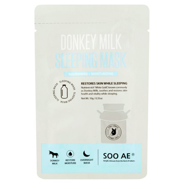 Soo Ae Donkey Milk Sleeping Mask, .35 oz