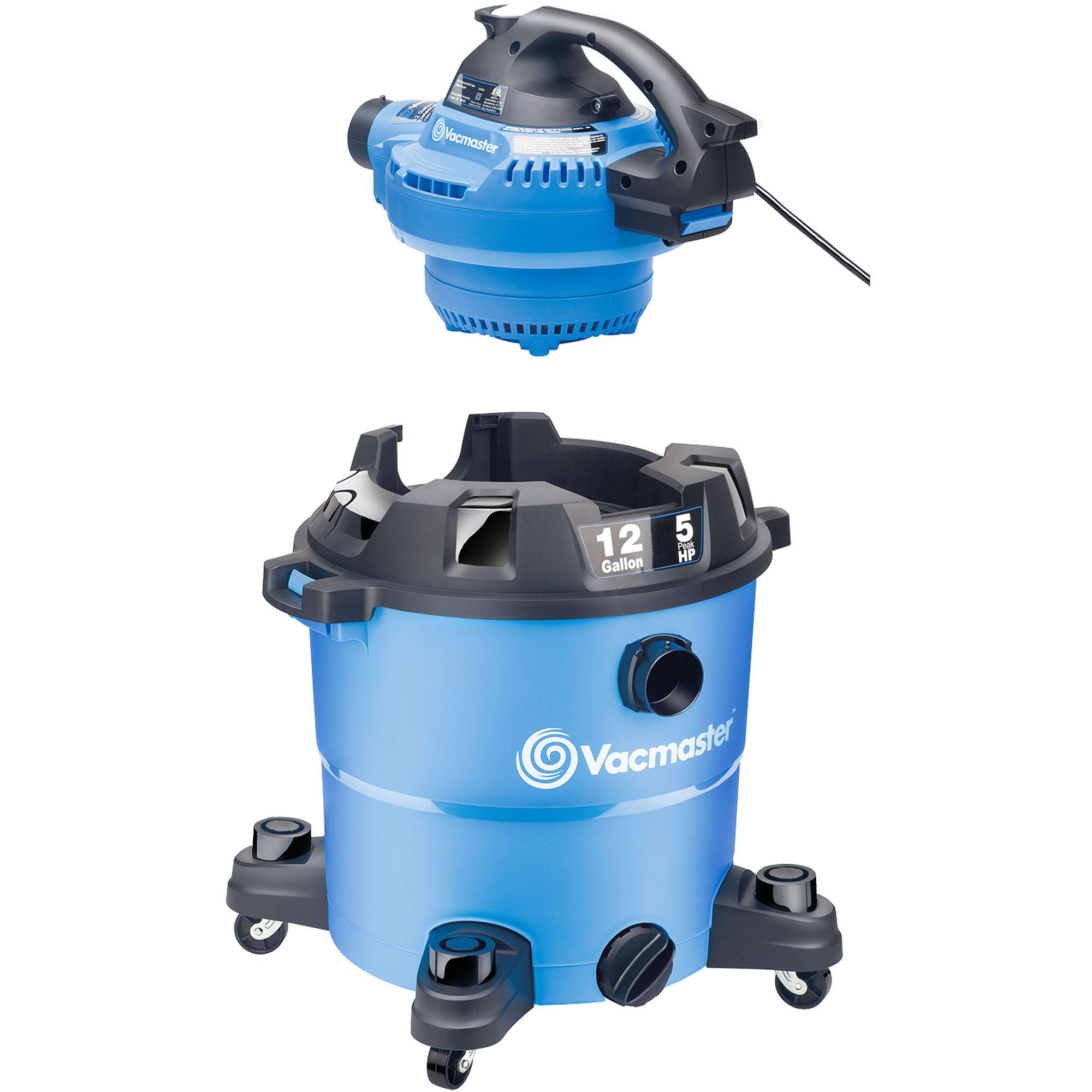 Vacmaster 12 gal Wet/Dry Vacuum