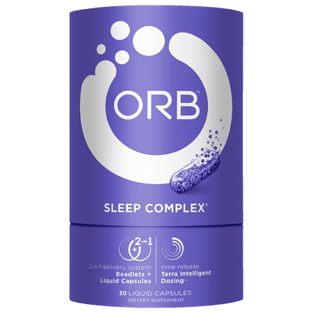 Orb Sleep Complex Liquid Capsules, 30 Ct - Food Complex 30 Tabs