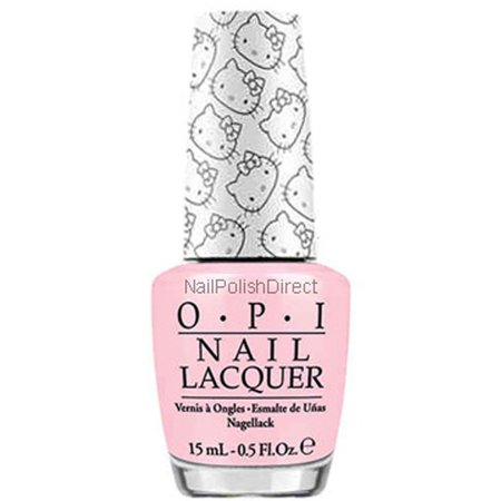 OPI Nail Lacquer, Small + Cute = Heart (Hello Kitty Collection), 0.5 Fl Oz ()