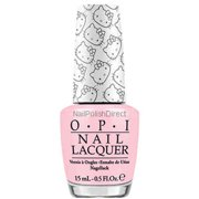 OPI Nail Lacquer, Small + Cute = Heart (Hello Kitty Collection), 0.5 Fl Oz