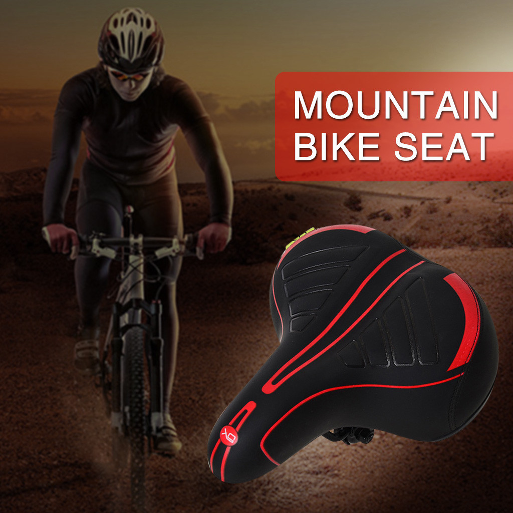 Wide Bike Bicycle Sport Soft Pad Saddle Seat Comfort Big Bum Gel Cruiser Cushion