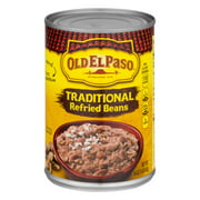 Old El Paso? Traditional Refried Beans 16 oz. Can, 16.0 OZ