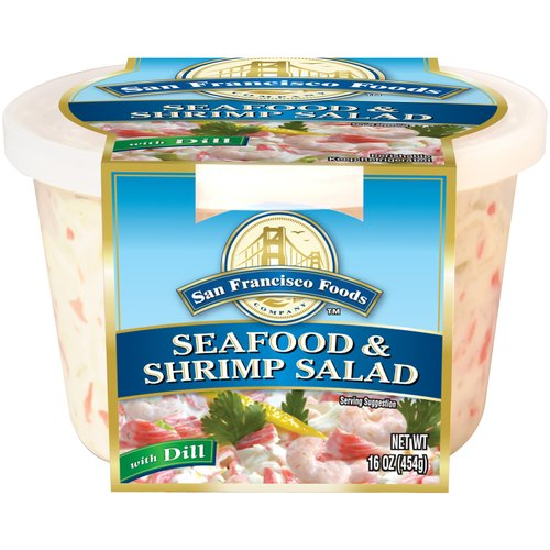 Gourmet Seafood & Shrimp Salad, 16 oz