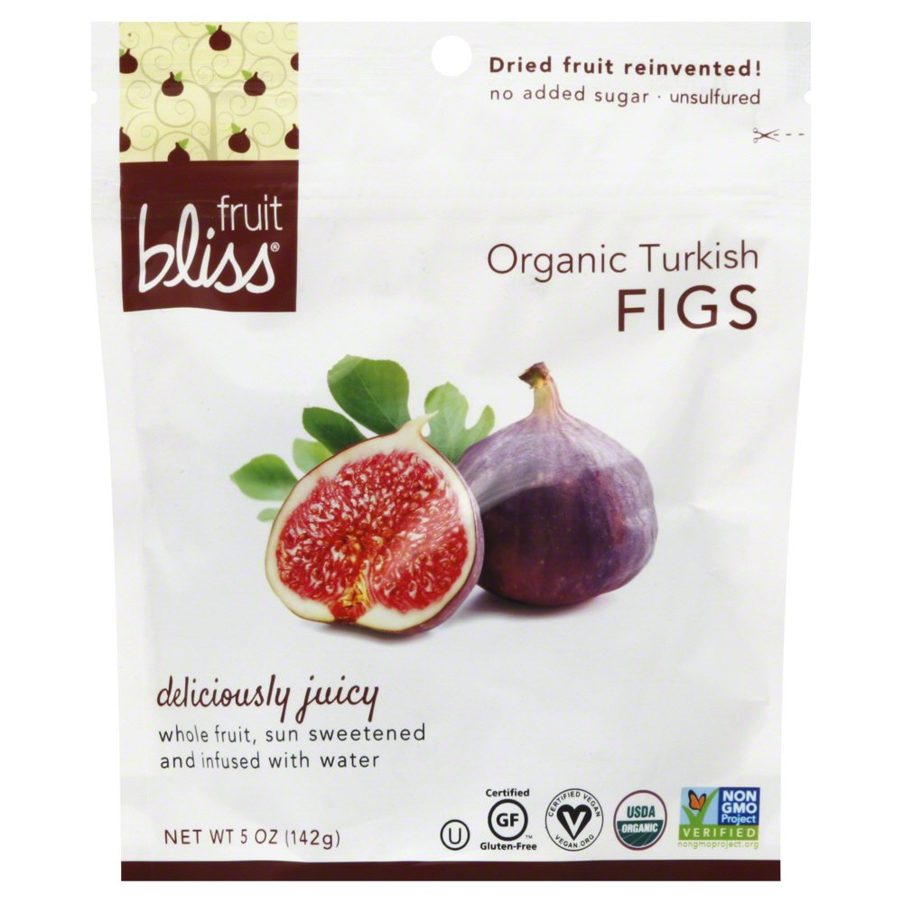 Fruit Bliss Organic Turkish Figs 5 Ounce