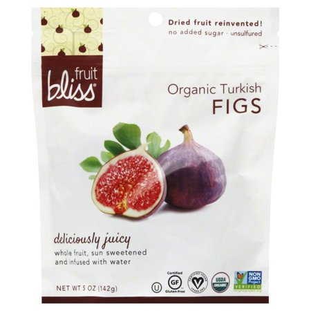 Fruit Bliss Organic Turkish Figs 5 Ounce