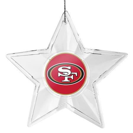 San Francisco 49ers Star Ornament - No Size