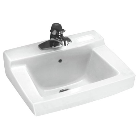 American Standard 0321.026.020 Declyn Wall Mount Porcelain Bathroom Sink (White)