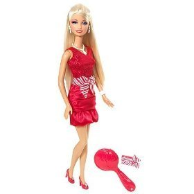 Holiday Scene Barbie Doll