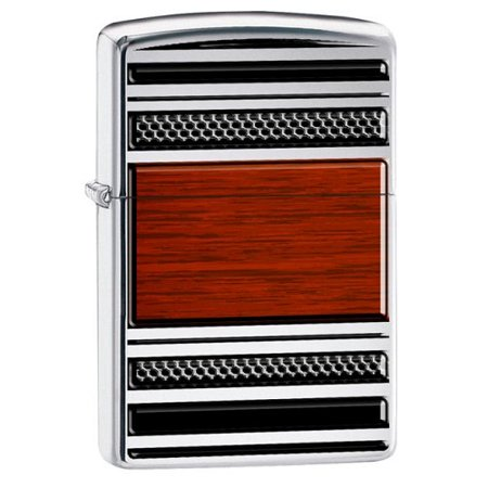 Cigar Pipe Lighter (Zippo Steel And Wood Pipe Lighter)