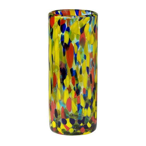 Latitude Run Hermanson Drinking 16 oz. Glass Highball Glass (Set of 6)