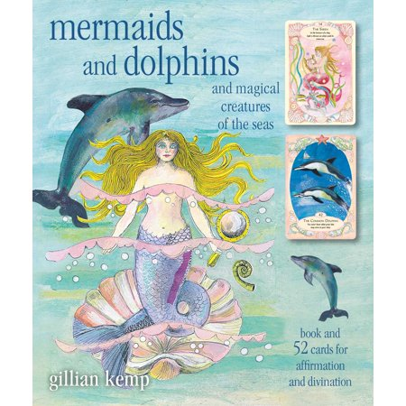 Mermaids and Dolphins: And Magical Creatures of the Sea [With (Magical Mermaids And Dolphins Cards Doreen Virtue)