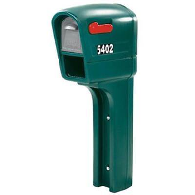 Trim Line Plus Spruce All-In-One Mailbox & Post With Newspaper Holder