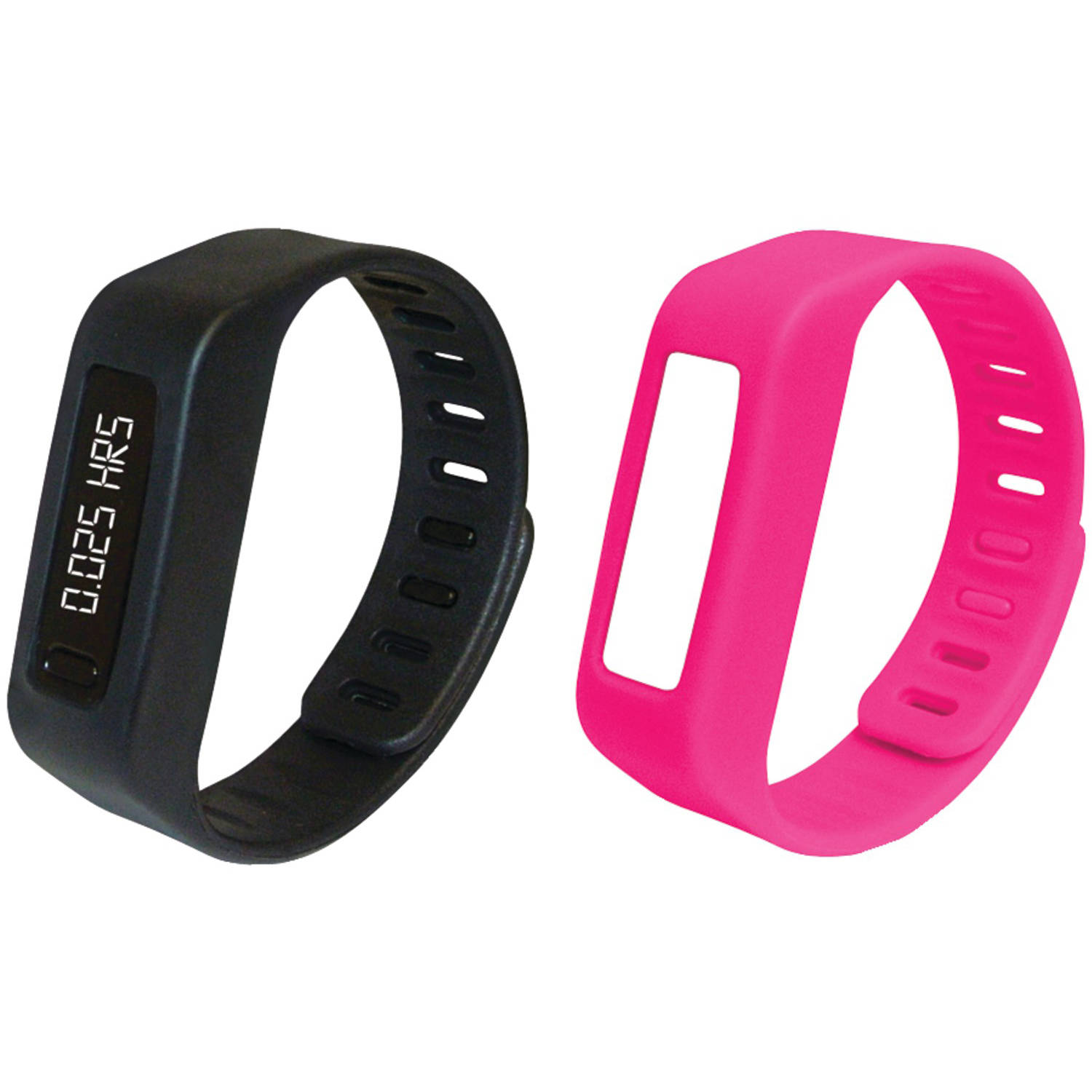 Naxa NSW-11PINK Lifeforce+ Fitness Watch, Pink