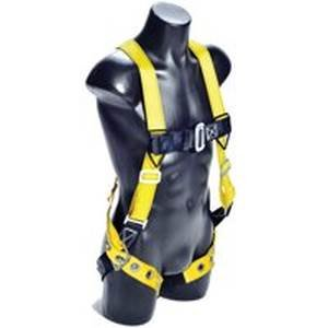 Qualcraft Huv-Tb Universal Velocity Harness With Chest Pass-Thru Buckle and Leg Tongue Buckles, Smal