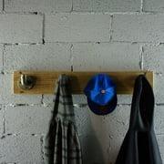 Furniture Pipeline  San Antonio Farmhouse Industrial Wall Mounted 4-Hook Coat Rack