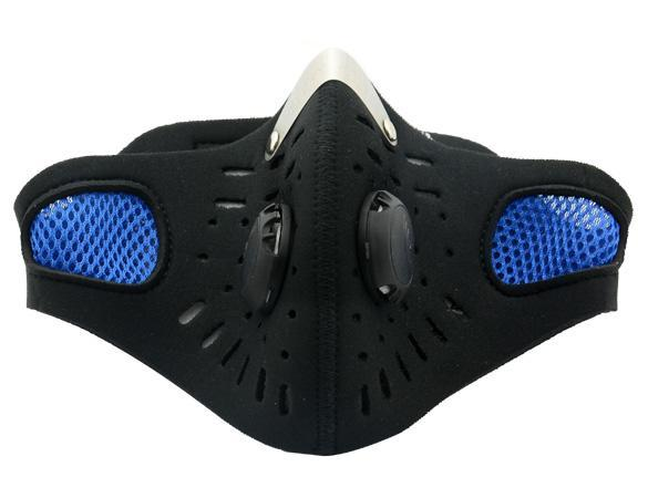 Half Face Mask Anti Pollution Dust Mask Windproof Outdoor Cycling Mask --Black by