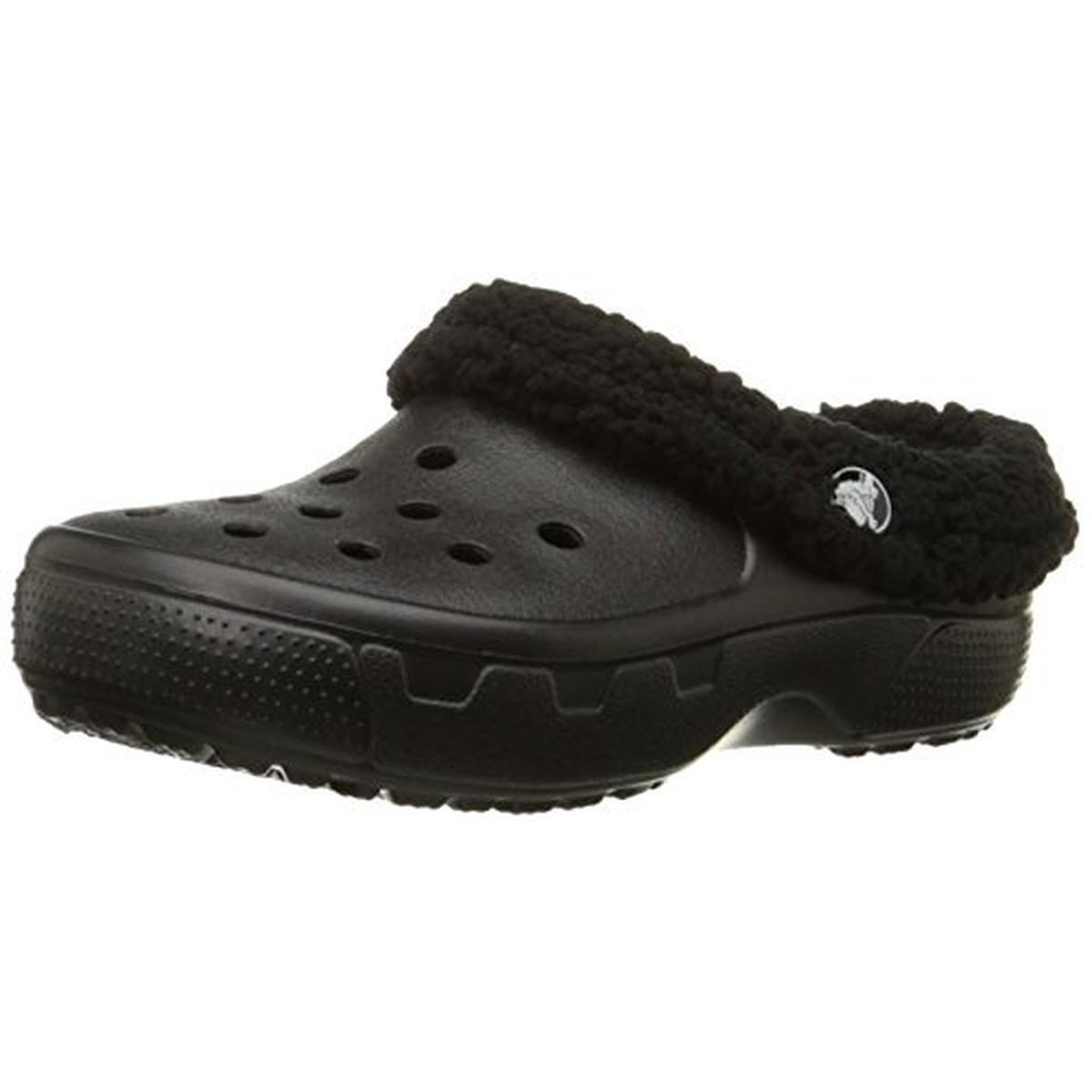 Crocs Boys Mammoth Faux Fur Clogs by Crocs