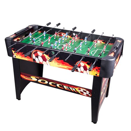 Pinty 48 foosball table soccer mdf construction for family for 12 in 1 game table walmart