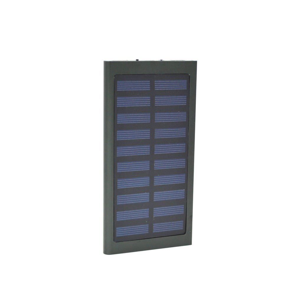 New 100000mAh Dual USB Portable Solar Battery Charger Solar Power Bank For Phone by