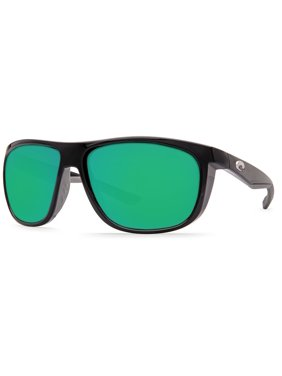 6cba83d8be4 Product Image Costa Del Mar Kiwa KWA 11 Shiny Black Sunglasses