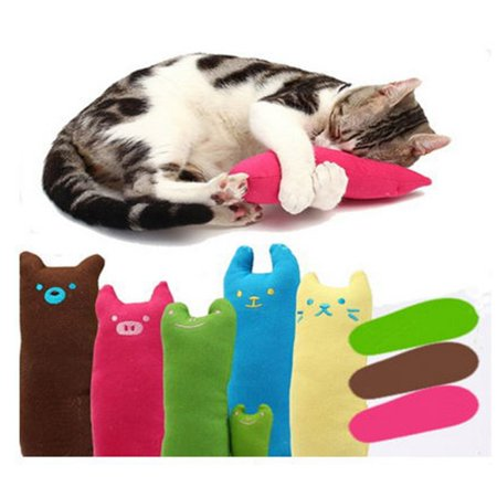 Pets Cat Plush Toys Interactive Fancy Catnip Kitty Pillow Toys Interesting Chew Toy for Cat