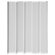 """Mobile Home Skirting Vinyl Underpinning VENTED Panel WHITE 16"""" W x 46"""" L (8 Pack)"""
