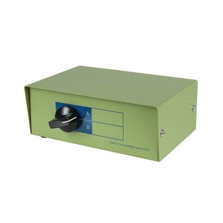 Monoprice DB9 Female Ports AB 2 Way Bidirectional Switch Box - image 1 of 1