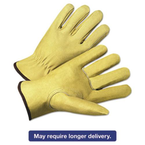 Ors Nasco 4800XL 4000 Series Pigskin Leather Driver Gloves, Beige, Extra Large, 12 Pairs