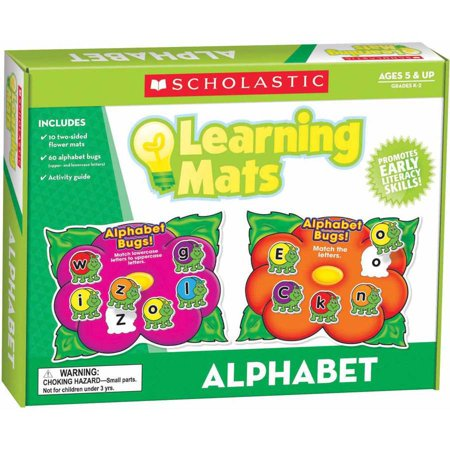 Learning Alphabet Mats (Scholastic Hands-On Learning Alphabet Mats)