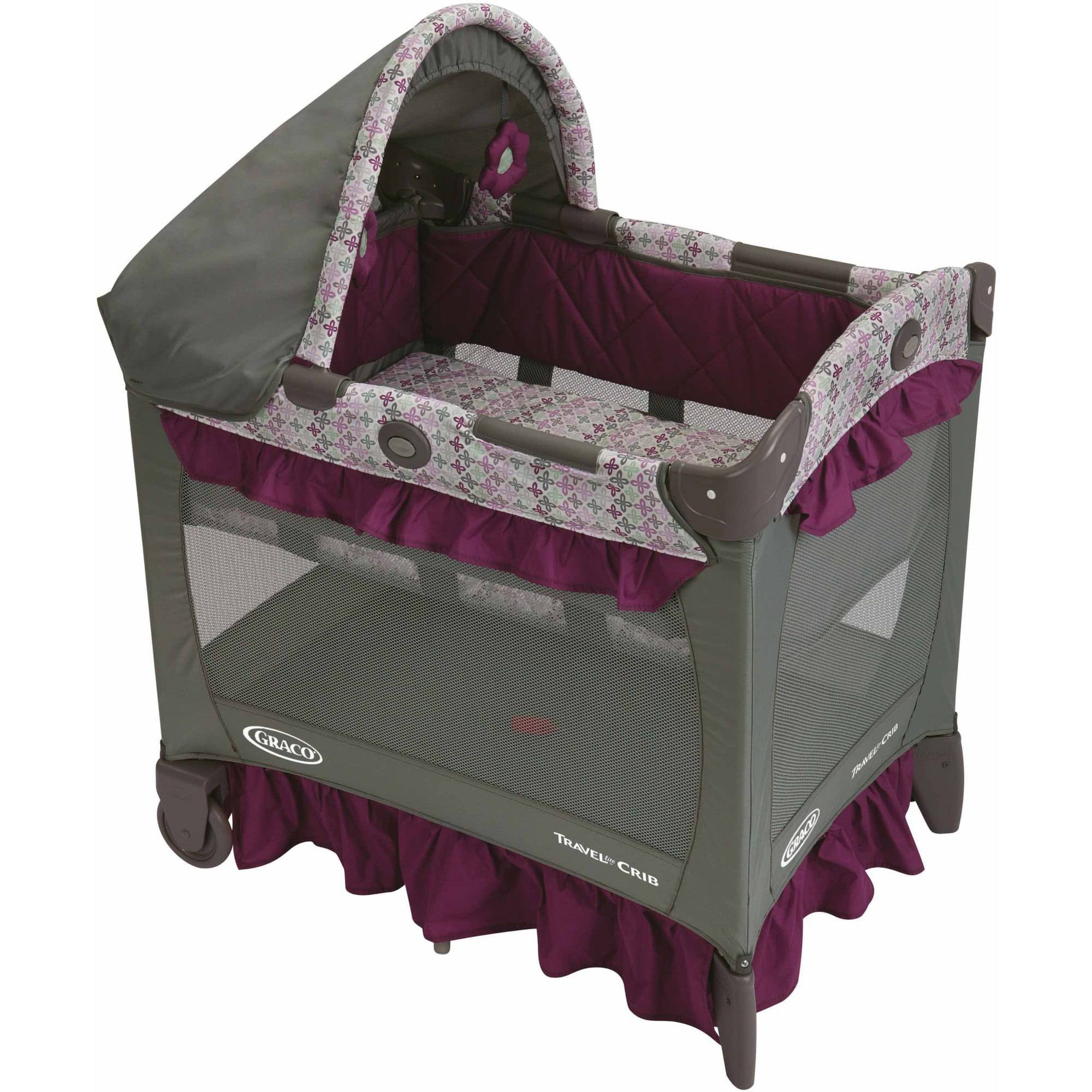 Graco Travel Lite Portable Crib, Nyssa