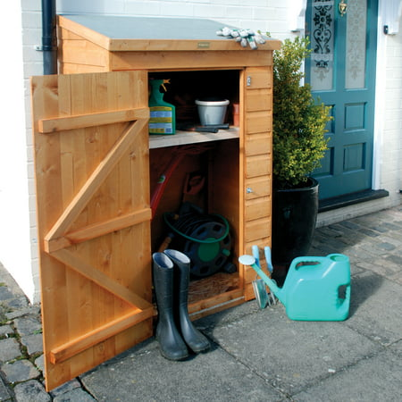 Rowlinson Mini-Store 3' x 2' Wood Storage Shed