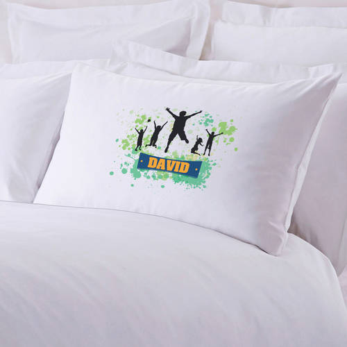 Personalized Happy Kids Pillow Case