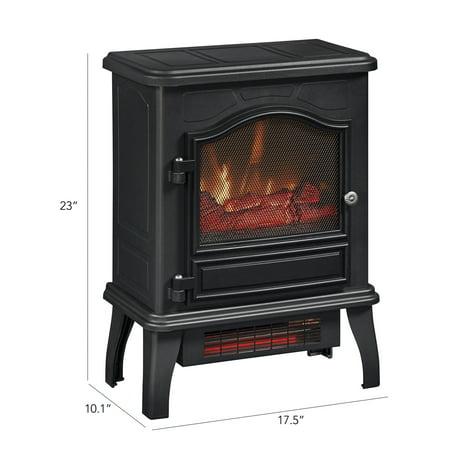 ChimneyFree Infrared Quartz Electric Stove Heater