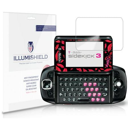 - iLLumiShield Phone Screen Protector w Anti-Bubble/Print 3x for Sharp Sidekick 3