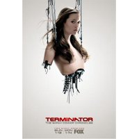 Summer Glau Terminator poster #04 Metal Sign 8inx 12in