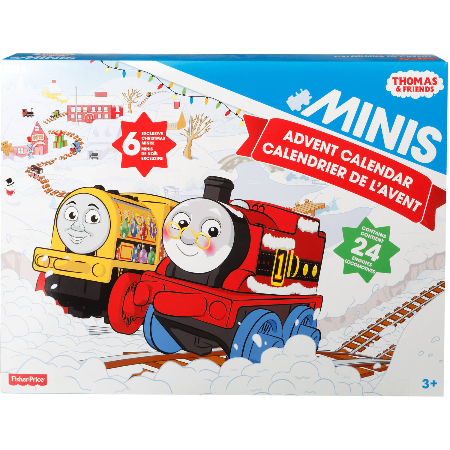 Fisher Price Thomas & Friends Minis Advent