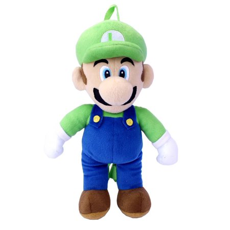 Super Bros. Luigi Plush Backpack](Mario And Luigi Girls)