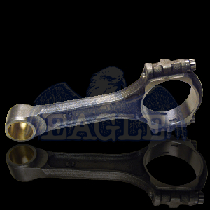 """EAGLE 6.125"""" Forged I-Beam Connecting Rod SBC 8 pc P/N SIR6125BBLW"""