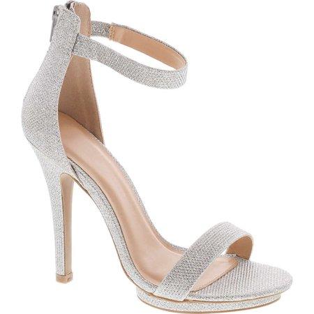 Static Footwear Womens Open Toe Ankle Strap High Stiletto Heel Platform Pump Sandal Heel Ankle Strap Platform Pump