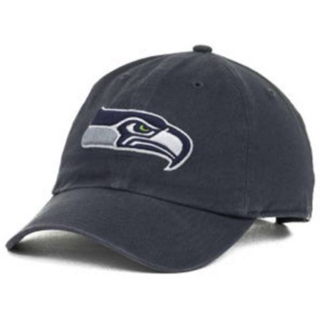 Seattle Seahawks 47 Brand Franchise Fitted Hat   Vintage Navy
