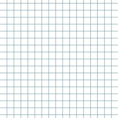 "SchoolSmart Bond Graph Paper, 16 lb, 8.5"" x 11"", White, 500 Sheets"