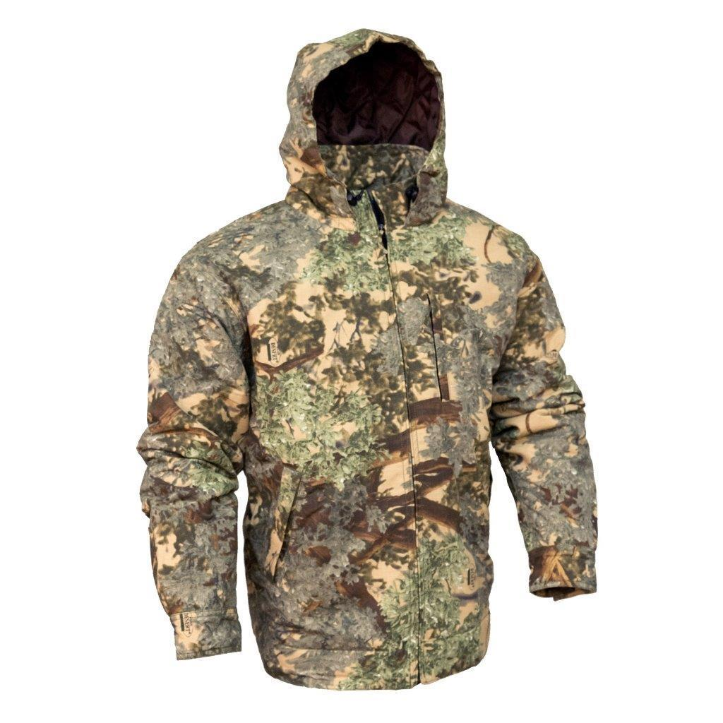 King's Camo Classic Cotton Insulated Hooded Ripstop Jacket Desert Shadow by