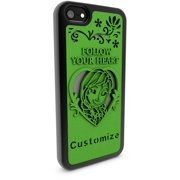 Apple iPhone 5 and 5S 3D Printed Custom Phone Case - Disney Frozen - Anna