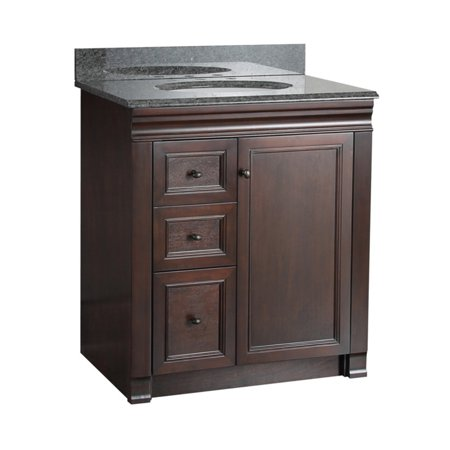 Awesome Foremost Shawna 30 In Single Bathroom Vanity With Left Side Drawers Download Free Architecture Designs Boapuretrmadebymaigaardcom