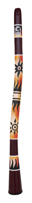 Toca Didgeridoo Curved Tr Sun by Toca