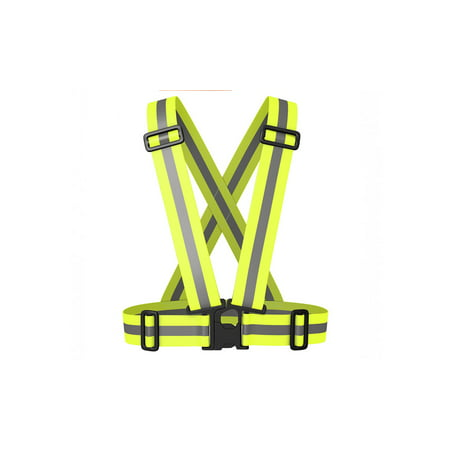 IGIA Best Reflective Safety Vest - Stay Safe Jogging, Cycling,