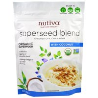 Nutiva, Organic Superseed Blend, With Coconut, 10 oz (pack of 1)